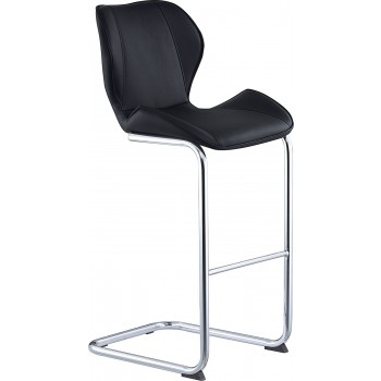 D1446BS Barstool, Black