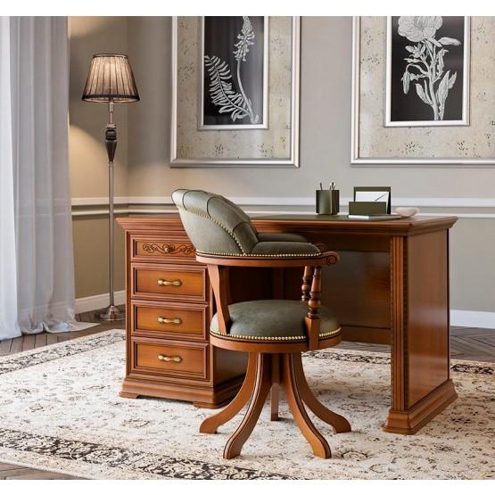 Torriani 2-Piece Office Set, Composition 1, Walnut photo