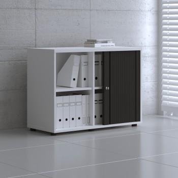 Tambour Pro Storage Unit IA2L05, White + Black Front