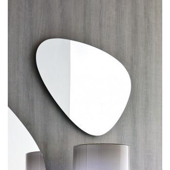 Stone Small Silver Mirror