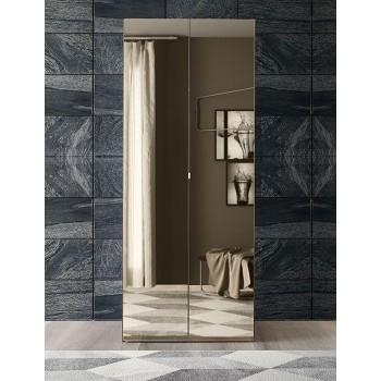 Akademy 2-Door Wardrobe w/Mirror