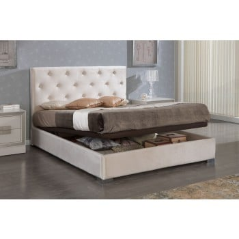 626 Ana Euro Queen Size Storage Bed