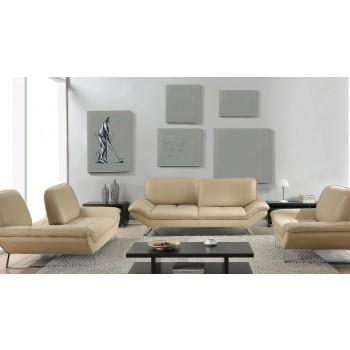 Roxi 3-Piece Living Room Set, Sand
