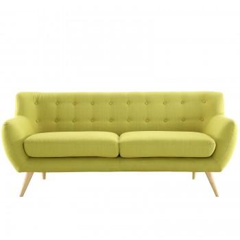 Remark Sofa, Wheatgrass by Modway
