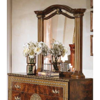 Alexandra Mirror, Walnut