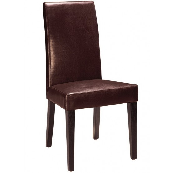 DG020-BR Dining Chair, Brown photo