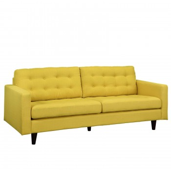 Empress Upholstered Sofa, Sunny by Modway
