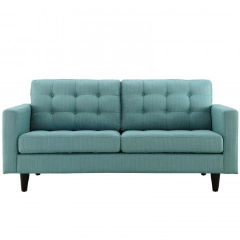 Empress Upholstered Loveseat, Laguna by Modway
