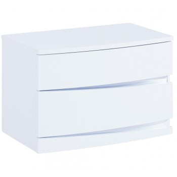 Aurora Nightstand, White