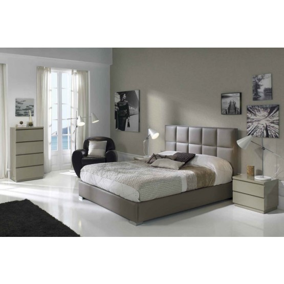 641 Noa 3-Piece Euro Queen Size Storage Bedroom Set photo