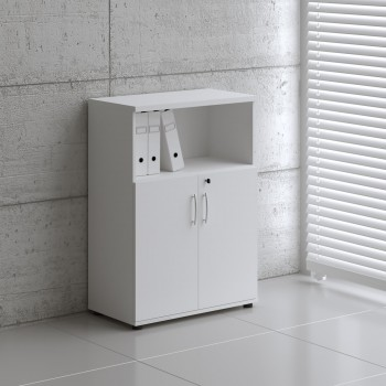 Basic K3404 2-Door Storage, White