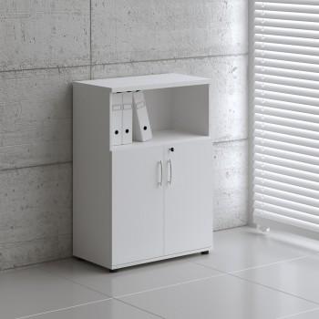 Basic K3404 2-Door Storage, White