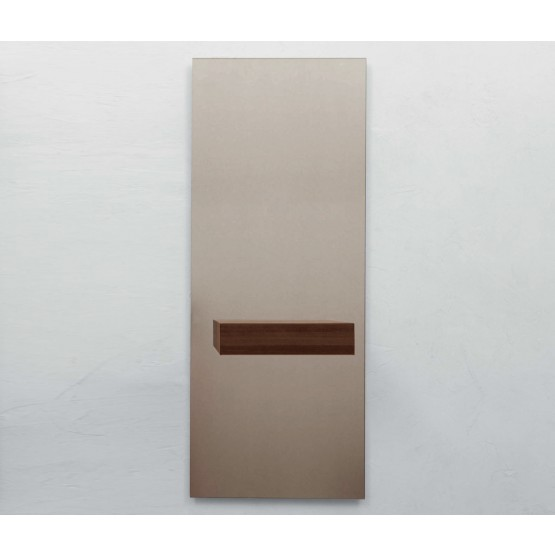 Alicante Bronzed Mirror with Drawer, Canaletto Walnut photo