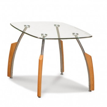 T138MC End Table, Beech by Global Furniture USA