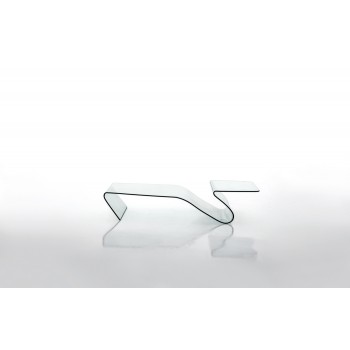 Alaric Coffee Table, Extra Clear Transparent