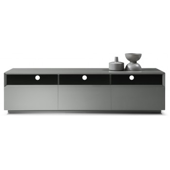 023 TV Stand, Grey Gloss by J&M Furniture