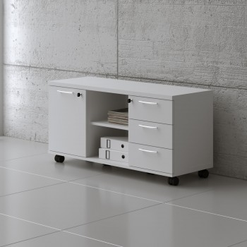 Managerial Storage A120MP, White