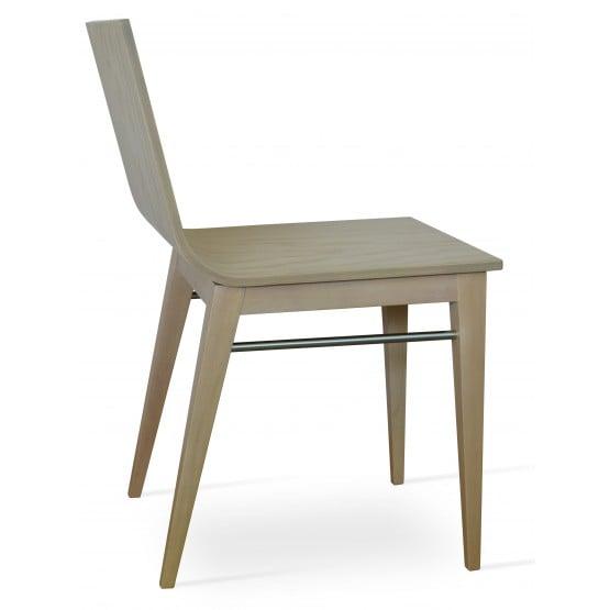 Corona Wood Dining Chair, American Natural Ash Base, Natural Ash Veneer Seat photo