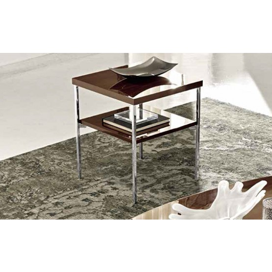 Roma Lamp Table, Walnut photo