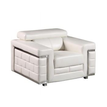 U7940 Chair, White by Global Furniture USA