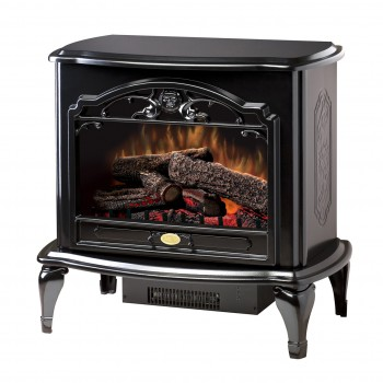 Celeste Stove, Gloss Black Finish
