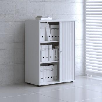 Tambour Pro Storage Unit IA3L04, White