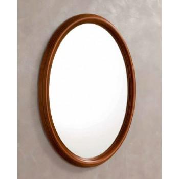 Treviso Oval Mirror, Cherry