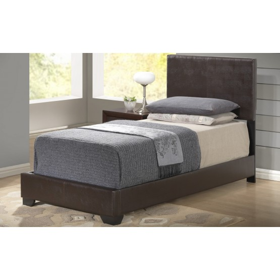 8103 Twin Size Bed, Brown photo