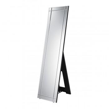 Westcliffe Floor Mirror In Clear