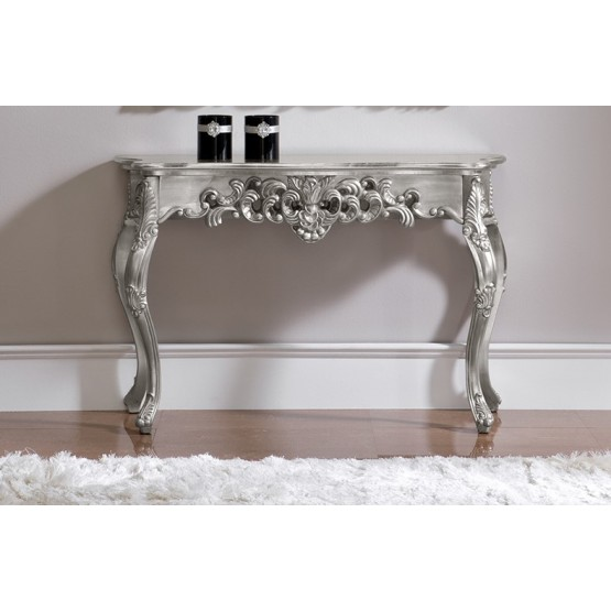 K-58 Console Table, Silver photo