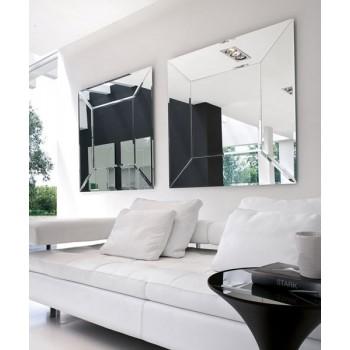 Costantia Large Square Silver Mirror