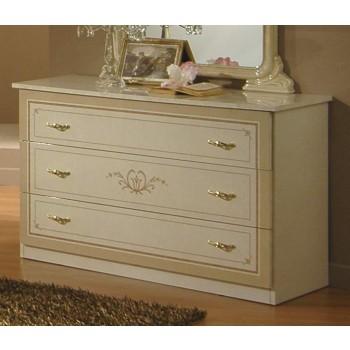 Gioia Single Dresser, Ivory