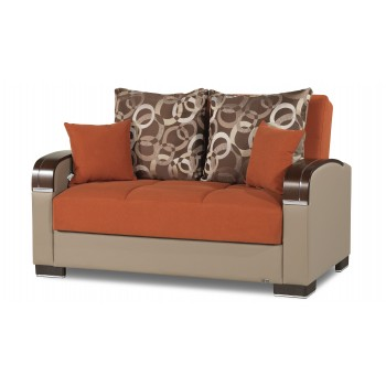Mobimax Loveseat, Orange by Casamode