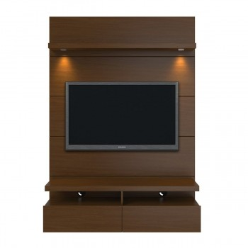 "Cabrini 47.24"" Theater Panel, Nut Brown"