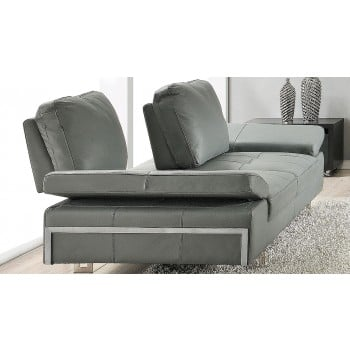 Gia Loveseat, Mid Grey