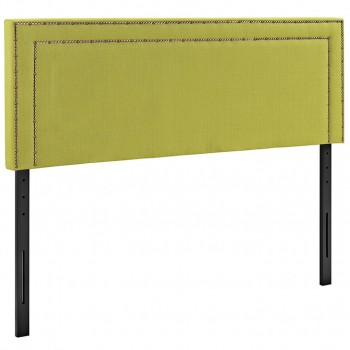 Jessamine Full Fabric Headboard, Wheatgrass by Modway