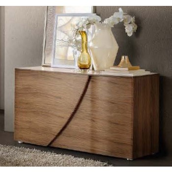 Luna Single Dresser, Walnut
