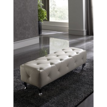 Nelly B5 Bench, White