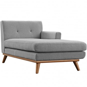 Engage Right-Arm Chaise, Expectation Gray by Modway