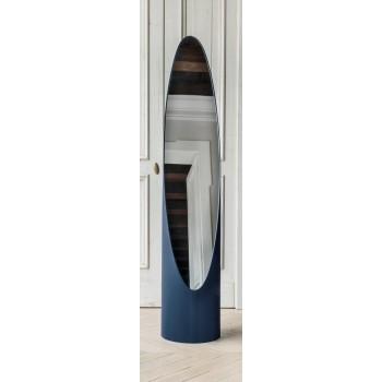 Kolonaky Mirror, Blue Eco-Leather