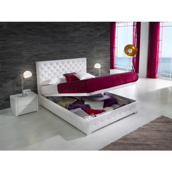 636 Alma Euro Twin Size Storage Bed photo