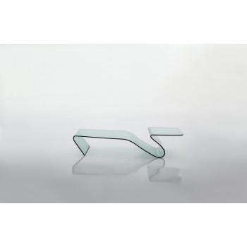 Alaric Coffee Table, Clear Transparent