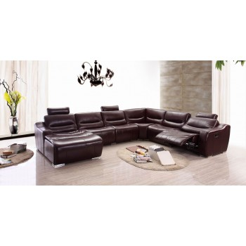 2144 Sectional w/Recliner, Left Arm Facing