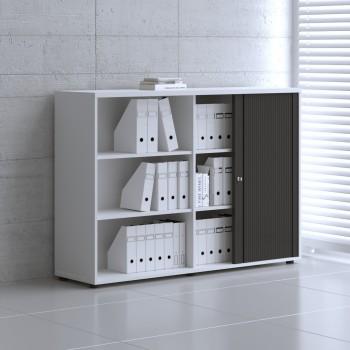 Tambour Pro Storage Unit IA3L08, White + Black Front
