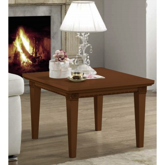 Treviso End Table, Cherry photo