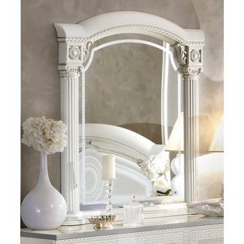 Aida Mirror, White