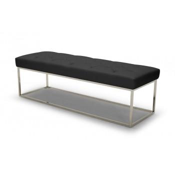 Chelsea Lux Bench, Black