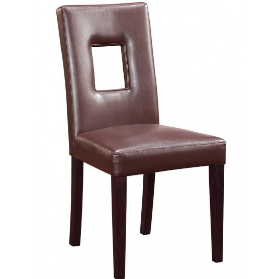 DG072-BR Dining Chair, Brown photo