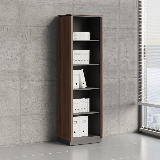 Status Open Storage Cabinet X59, Lowland Nut photo