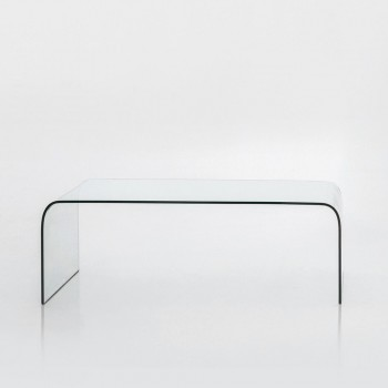Anemone Coffee Table, Extra Clear Transparent